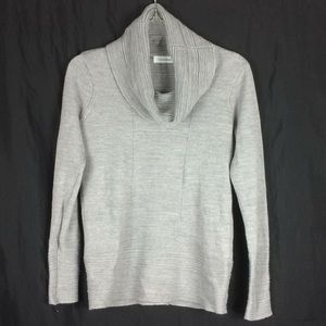 Calvin Klein Grey Cowl Neck Sweater